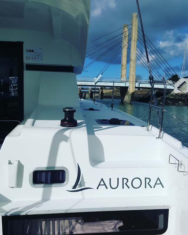 Aurora delivery date and preparations